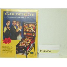 Golden Eye Pinball Machine Flyer